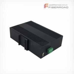 High Performance 4 Ports 1000M RJ45 Industrial Fiber Switch