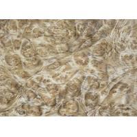 China 0.5 mm Mappa Burl Wood Veneer , Nardwood Thin Wood Veneer Sheets on sale