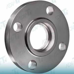 China SW Forged Flange Titanium Pipe Fittings Socket Weld Flanges Hydraulic And Steam Lines on sale