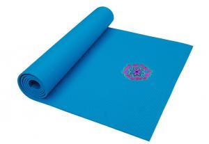 China Printing folwer High Quality Eco-friendly PVC Yoga Mat, foldable soft yaga mat on sale