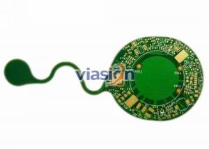 China Custom Flexible Six Layer Polyimide Prototype PCB With Silver Ink Pring For IT Equipment on sale