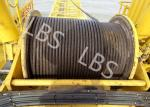 Integral Type Lebus Groove Drum Winch For Offshore PlatformTower Crane