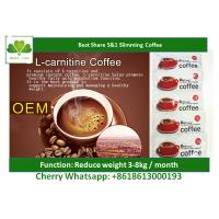China Instant Body Beauty Slimming Coffee , Pharmaceutical Grade Herbal Weight Loss Tea on sale