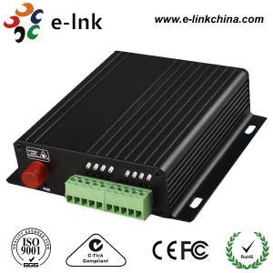 delantero bidireccional 4-Ch y al revés audio sobre el convertidor de la fibra óptica del CCTV