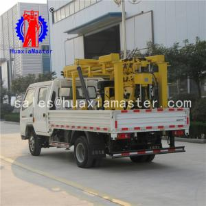China 600m XYC-3 car drilling machine / bore well drilling truck price / tractor mounted water well drilling rig on sale