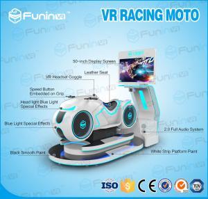 China Heavy Drive Racing Simulator , Motorcycle / Car Racing Game Chair Simulator on sale