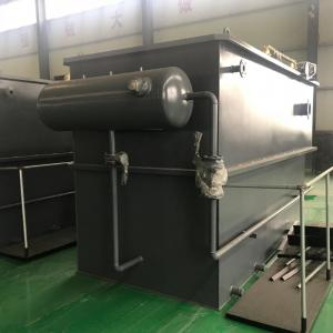 China Stainless Steel Dissolved Air Flotation Equipment In Food Industry Waste Water Treatment on sale