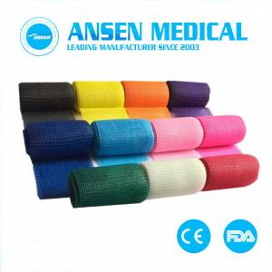China Fiber Casting Tape Medical Supplies Waterproof Cast Bandage Fiberglass Tape on sale