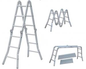 China rubber feet for ladders Multi-purpose a frame ladder pass CE (WYAL-1004) on sale