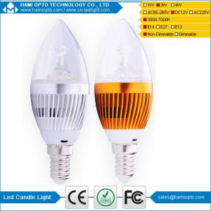 China E14 LED bulb,Solar led candle bulb DC12V,led lighting,Guaranteed 2 years on sale