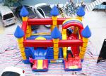China Customized Inflatable Bouncy Castle With Slide Jumping Area For Kids wholesale