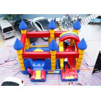China Customized Inflatable Bouncy Castle With Slide Jumping Area For Kids on sale