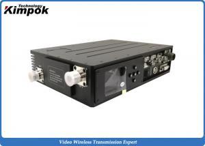 China Two Way Communication Video COFDM Transmitter Military 10 Watt Wireless AV Sender Video & Data on sale