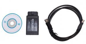 China WIFI327 WIFI OBD2 EOBD Scan Tool Elm Obd Interface , BMW X5 Citroen C3 on sale