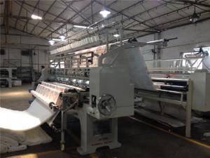China Duvet High Speed Quilting Machine , Ultrasonic Quilting Machine 110 Inch on sale