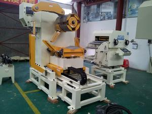 China Air Decoiler Straightener Feeder Metal Forming Material Stamping Automation on sale