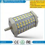 CE de poupança de energia RoHS da ampola de inundação da lâmpada nova de 10W R7S 118 42LED 5050SMD