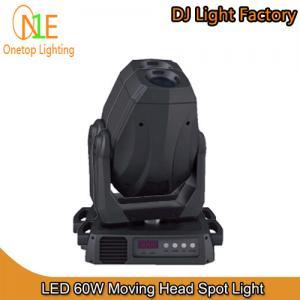 China 60W LED Moving Head Spot Light DJ Light Factory on sale