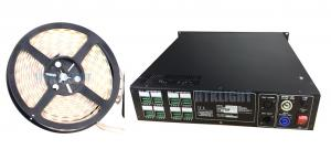 China Rack Mounted DMX 800W RGB LED Driver / Led Rope Light Controller on sale