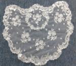 Ivory/White Spanish style veils and mantilla Catholic chapel lace - Small
