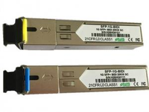 China Bi - Di Gigabit Ethernet Transceiver Small Form-Factor Pluggable Optical Transceiver SFP Module on sale