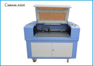 China 60w 80w Wood Leather Mini Laser Cutting Machine With Rotary Devices on sale