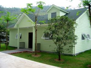 China modern house design prefabricated house on sale