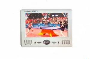 China 7 inch portable DVD player with digital TV(T103TV) on sale