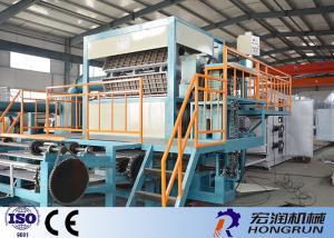 China Bandeja del OEM/del ODM Apple que hace la máquina 4000pcs/h máquina automática de la bandeja del huevo operación fácil on sale