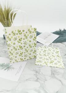China Degradable Flat Paper Merchandise Bags Kraft 150g Multipurpose Usage on sale
