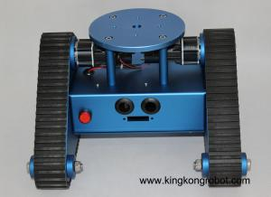 China KR0001 RC Tri-Tracked Tank Robot Kit on sale