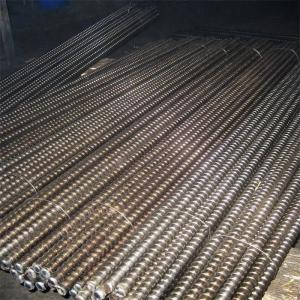 China Formwork tie rod with D15 thread, Cold rolled on sale