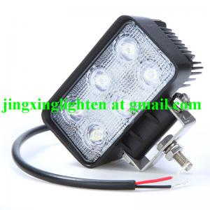 China Popular 18W LED Flexible Work Light for Offroad Jeep Boat Truck IP67 12V 24V on sale
