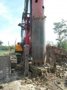 China Temporary Building Foundation Low Noise Oscillator , Rotary Drilling Rig Hydraulic Oscillator on sale