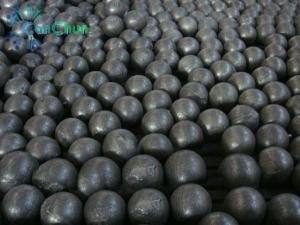 China forged grinding media steel balls on sale
