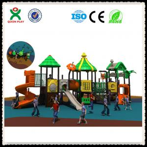 China Outdoor Play Structures Used Outdoor Play Equipment For Nursery School Furniture QX-019A on sale
