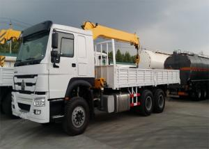 China 12T Truck Mounted Crane 6x4 Driving Type EURO II Emission Standard on sale