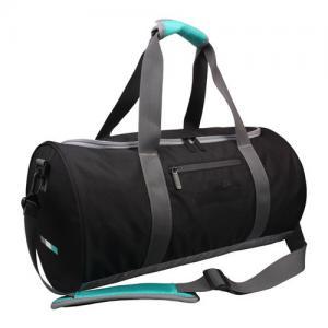 China 210D Waterproof Travel Duffel Bags Men , Small Traveling Duffle Bags Black on sale