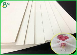 China 0.7mm thickness white color perfume testing paper sheet With absorbent fastly on sale