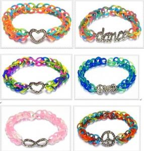 China rubber loom bands on sale
