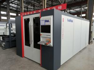 China CNC Fiber Laser Sheet Cutting Machine Industrial Laser Cutter With Perfect Cooling System on sale