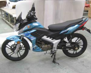 China Semi - Cycle High Powered Motorcycles Air Cooling 150cc Street Motorcycle on sale