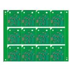 Edge Plating Green Color FR4 Printed Circuit PCB Board Assembly Design