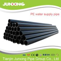 3 inch hdpe tube fireworks for hotel or apartment iso4427 sdr17