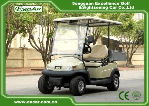 China 2 Passenger Electric Utility Carts / Cargo Golf Buggy Car With 350A USA Curties Controller on sale