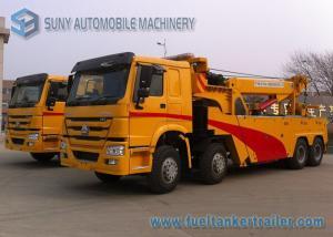 China Wreckers resistentes do rotador de 50 toneladas, Euro 2 HOWO 8 x caminhão 4 on sale