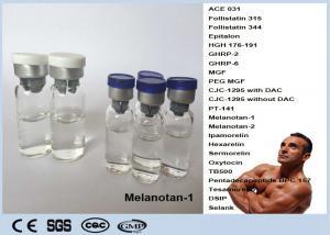 China Injectable Mt I Peptide Hormones Bodybuilding Peptide Melanotan 1 CAS 75921-69-6 Mt-1 on sale