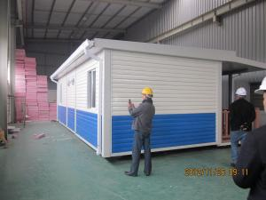 China Modern Mobile​​ Balcony Prefabricated Container House Australia for Classroom BV / CE on sale