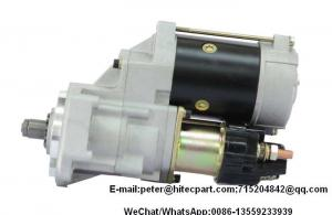 China Auto Diesel Engine Parts Starter Motor Assy , Truck Genuine Starter Motor 4BC2 4D33 on sale