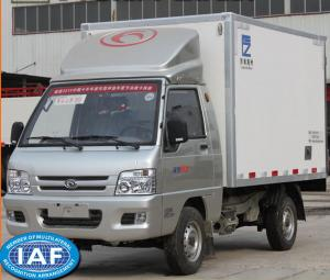 China Fiberglass Refrigerator  Box Truck loading capacity 0.5 - 0.8 Ton  for refrigeration transportation on sale